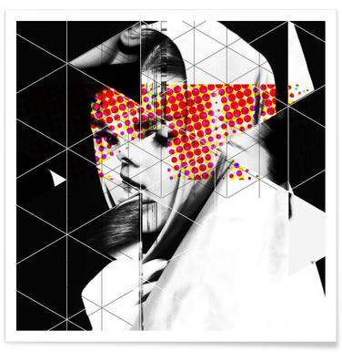 Audrey Mix 4 Plakat