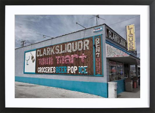 Liquor Store Hawthorne Framed Print