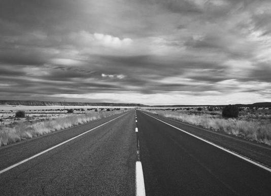 Open Roads -Leinwandbild