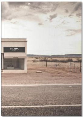 Prada Marfa Notebook