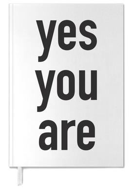 Yes you are