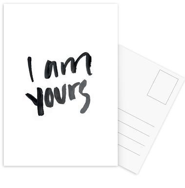 Yours Postcard Set