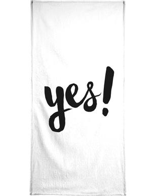 Yes Bath Towel