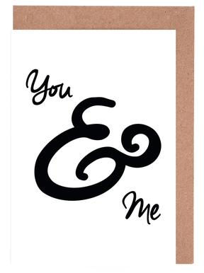 You & Me Greeting Card Set