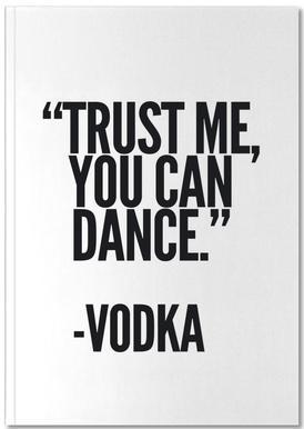 Vodka -Notizheft