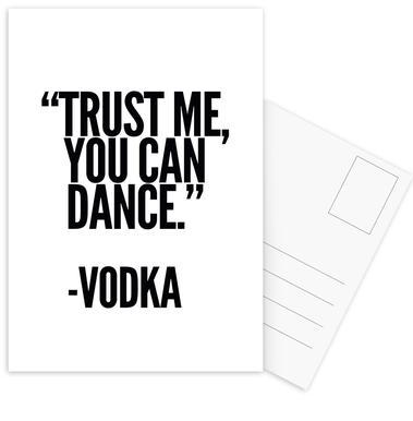 Vodka -Postkartenset