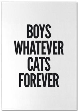 Boys -Notizblock