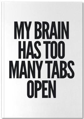 Brain -Notizheft