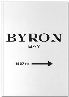 Byron Bay -Notizheft