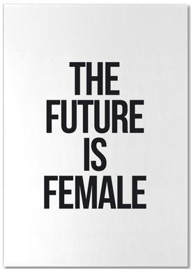 Female bloc-notes