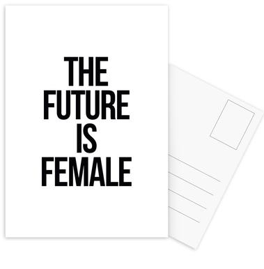 Female -Postkartenset