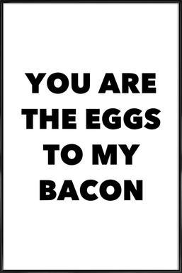 Bacon Framed Poster