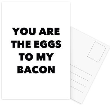Bacon ansichtkaartenset