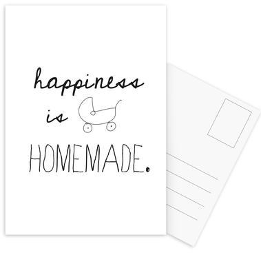homemade Postcard Set