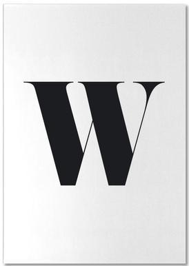 W -Notizblock