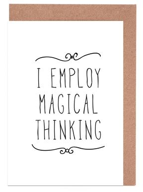 magical Greeting Card Set
