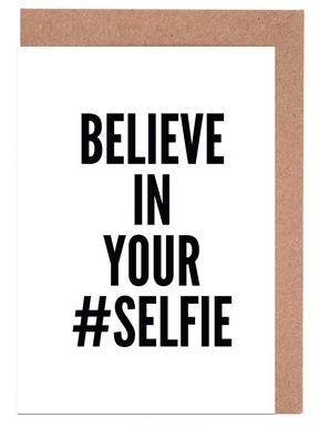 selfie Greeting Card Set