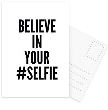 selfie Postcard Set