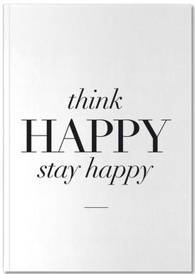 Think Happy Notebook