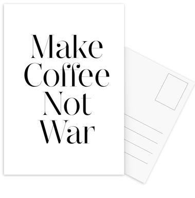 coffee Postcard Set