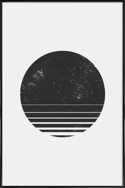 Geometric Space - Poster in Standard Frame