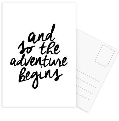 Adventure Begins cartes postales