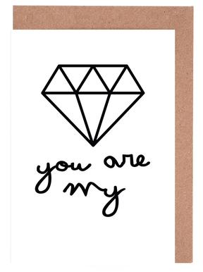 Diamond Greeting Card Set