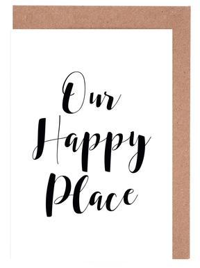 Our Happy Place -Grußkarten-Set