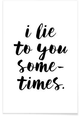 Lie -Poster