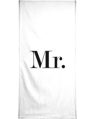 Mr. serviette de bain