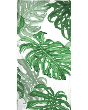 Monstera Deliciosa serviette de plage