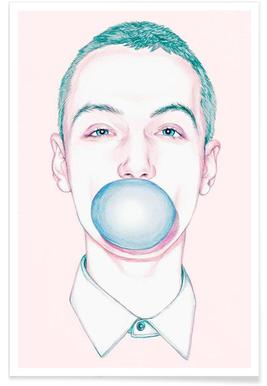 Bubble Boy - Premium poster