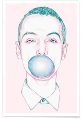 Bubble Boy - Premium Poster