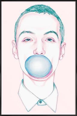 Bubble Boy - Poster in kunststof lijst
