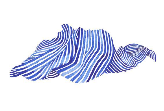 Waves -Acrylglasbild