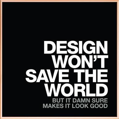 Design Won't Save White