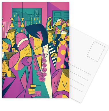 Elvis Postcard Set