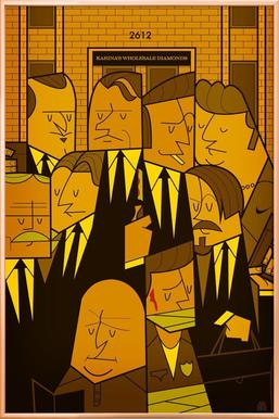 Reservoir dogs poster in aluminium lijst