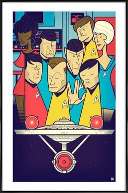 Enterprise Framed Poster