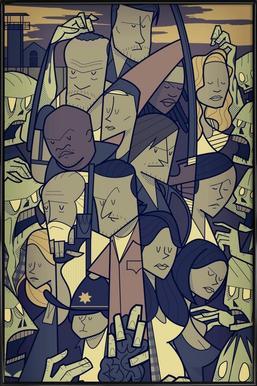 The Walking Dead Framed Poster
