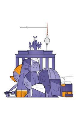 Berlin alu dibond
