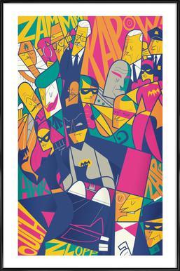 Batman - Poster in Standard Frame