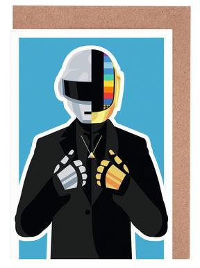 Daft Punk Greeting Card Set