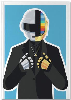 Daft Punk notitieboekje