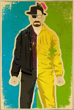 Heisenberg poster in aluminium lijst