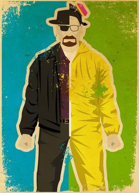 Heisenberg canvas doek
