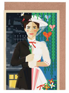 Mary Poppins Greeting Card Set