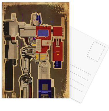 Optimus Mega Postcard Set