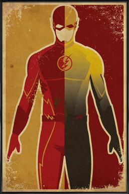 The Flash ingelijste poster