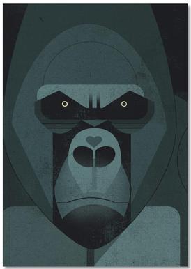 Gorilla carnet de notes